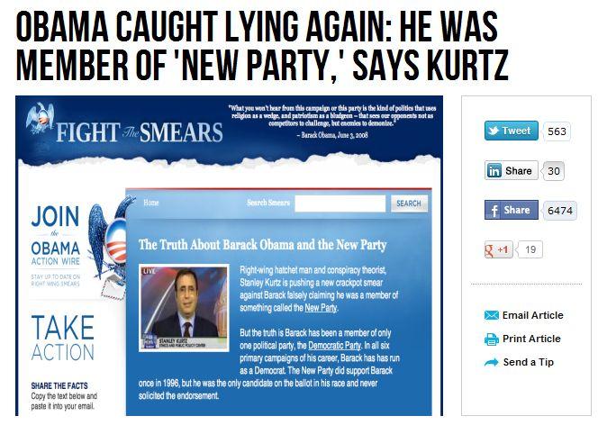 obama spider lies