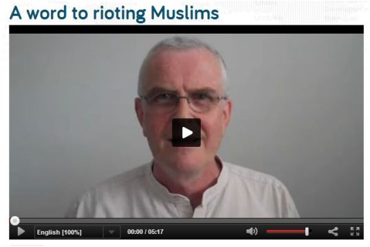 Rioting Muslims
